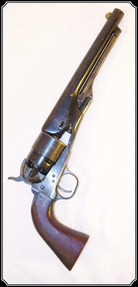 The Real 2nd Generation Colt 1860 1960 Army Gun