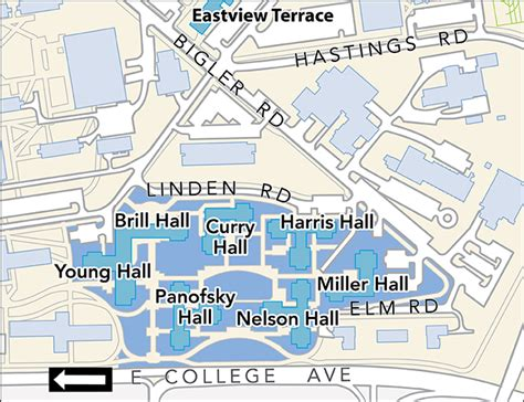Directions To Nittany Parking Deck by Housing Area Maps Penn State Park Housing