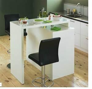 table de bar modulable With table de cuisine modulable