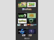 Major Upcoming Nintendo Switch Game Calendar NintendoSwitch