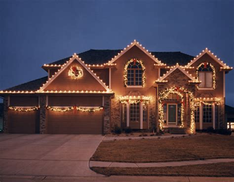 christmas lights houses near portfolio