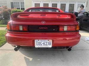 1991 Toyota Mr2 Turbo T Bar Roof Manual Transmission