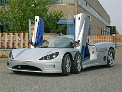 Amazing Stuffs Covini C6w 4200 Cc 6 Wheel Sport Car