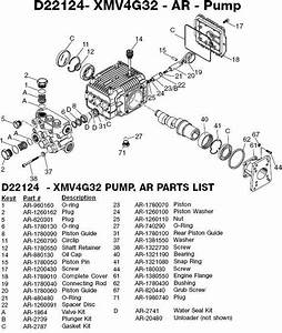 Devilbiss Excell Pressure Washer Whab3240 Parts Breakdown