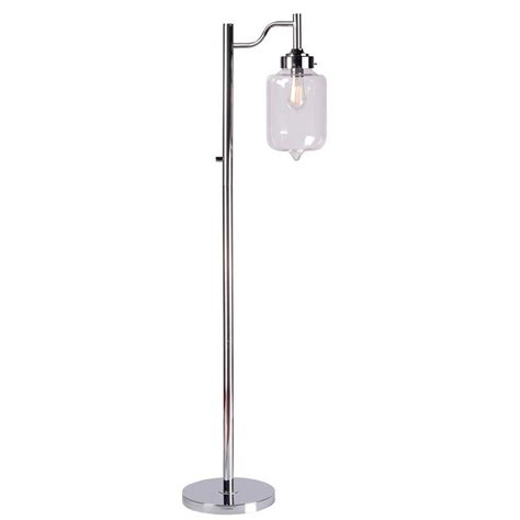 Kenroy Home Casey 57 In Chrome Floor L 32408ch The
