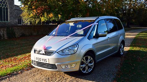 seater ford galaxy wedding transport hire braintree