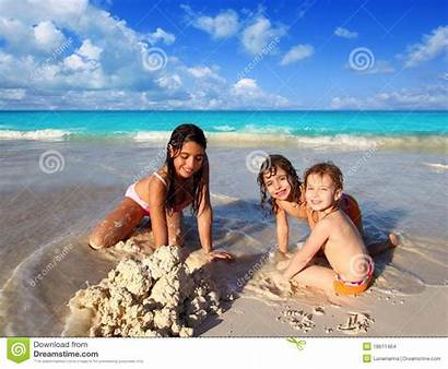 Nudist Nudism Beaches Playing Families Naturalism Young