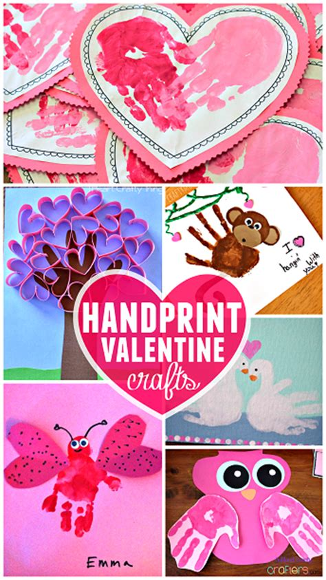 s day handprint craft amp card ideas crafty morning 465 | adorable valentines day handprint crafts for kids