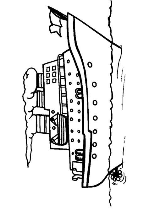 Dessiner Plan Bateau by Coloriage D Un Bateau De Croisi 232 Re
