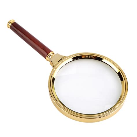 magnifying glass l 10x classic 90mm handheld 10x magnifier magnifying glass loupe