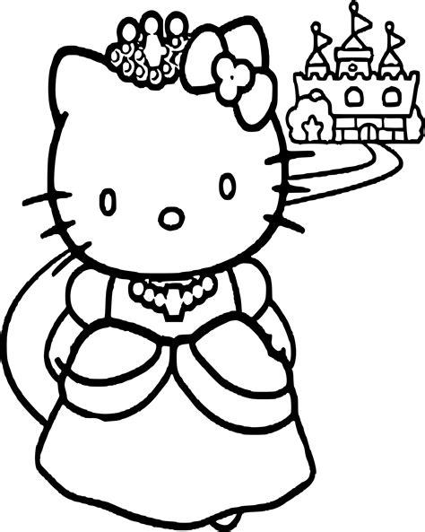 coloriage hello princesse dessin 224 imprimer sur coloriages info