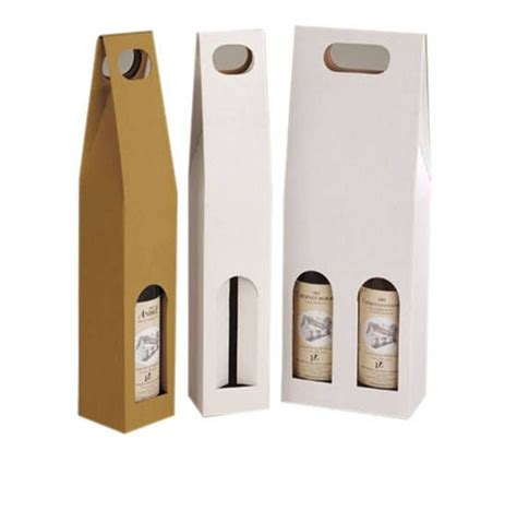 bottle packaging box template wine bottle box paper wine packaging pinterest