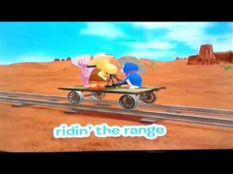 backyardigans singing sensation riding  range