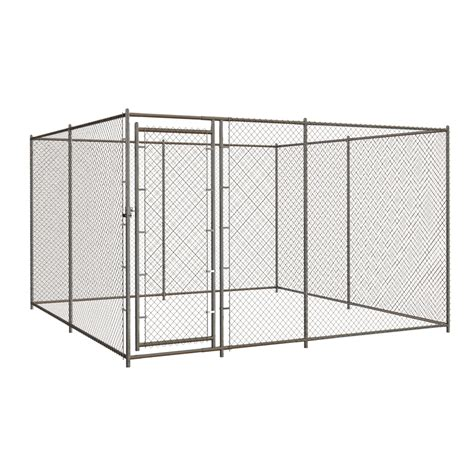 outdoor kennel shop blue hawk 10 ft x 10 ft x 6 ft outdoor kennel box