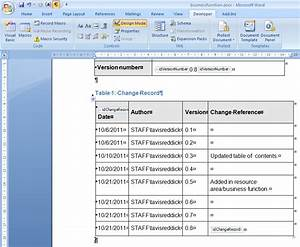 Getting version information current history from for Documents versions word