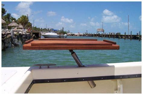 Boat Accessories Table by Goodale Marine Teak Custom Marine Teak Teak Tables And