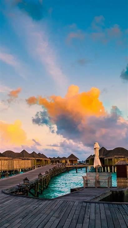 Wallpapers Uhd 4k Iphone Android Maldives Desktop