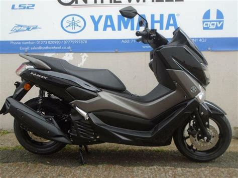 Nmax 2018 Vs 2017 by 2017 Yamaha Nmax 125 Abs Midnight Black Brand New In