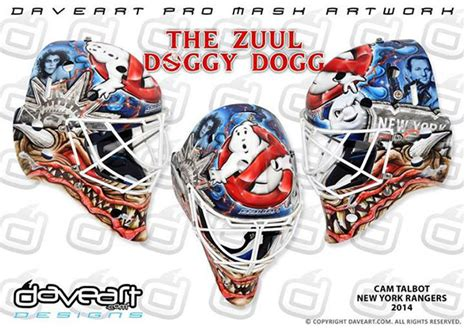 Cam Talbot To Debut New 'Ghostbusters' Mask For 2014-15 ...