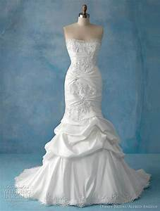 Disney fairy tale weddings by alfred angelo princess for Ariel wedding dress
