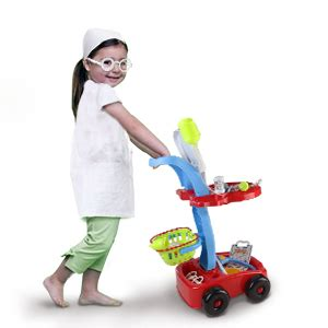 Amazon.com: Fajiabao Doctor Cart for Toddlers Medical Kit