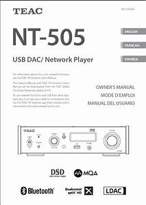Roon Does Not Work Properly With Teac Nt 505