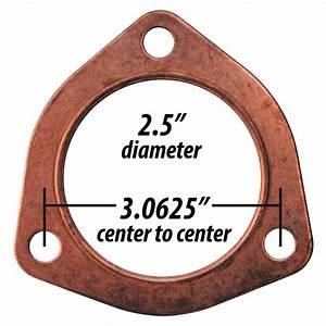 3641 Copper Exhaust Gasket