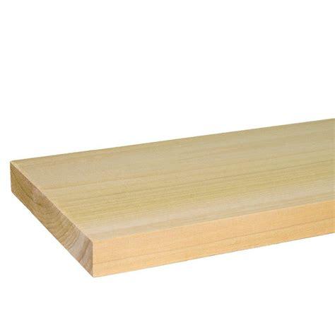 Types Of Kitchen Flooring Ideas - builder 39 s choice 1 in x 6 in x 6 ft s4s poplar board hlpo10606x the home depot