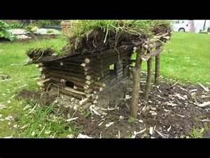 Construire Sa Cabane : construire une cabane en fuste miniature youtube ~ Melissatoandfro.com Idées de Décoration