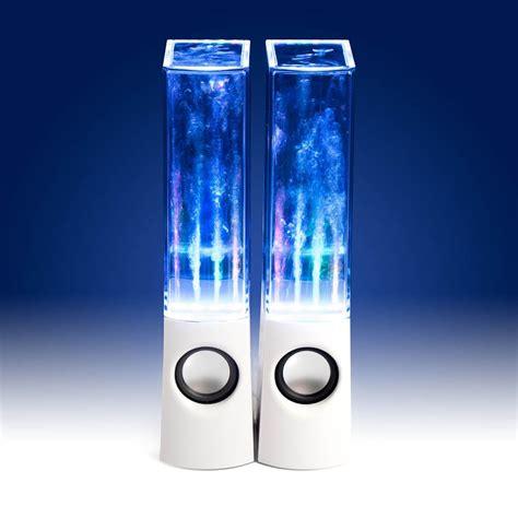 water light speakers led usb water jet speakers light
