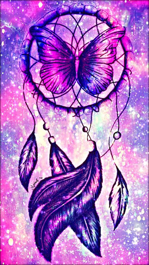Black Wallpaper Iphone Catcher by Butterfly Dreamcatcher Galaxy Iphone Android Wallpaper I