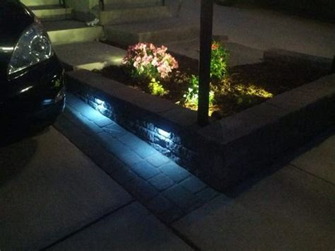 led retaining wall lights amazon com wall eye 12 volt led low voltage landscape