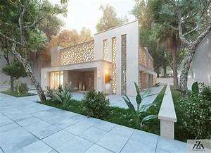 Arabic, Modern, House, On, Behance