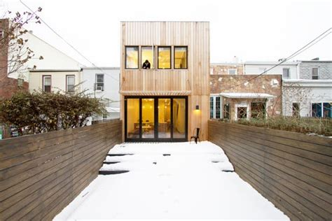 brooklyn row house  office  architecture archinect