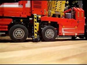 Lego Technic Camion : lego technic 8258 camion convoie exceptionnel youtube ~ Nature-et-papiers.com Idées de Décoration