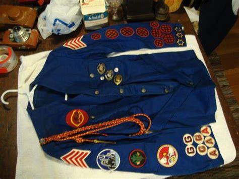 vintage culver military academy cadet scout uniform badges