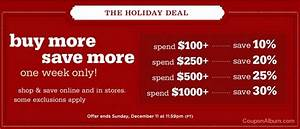 Williams Sonoma Buy More Save More Holiday Sale! Online
