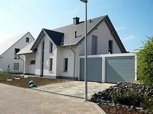 Garage Bauen Kosten : einfamilienhaus mit doppelgarage bauen ~ Lizthompson.info Haus und Dekorationen