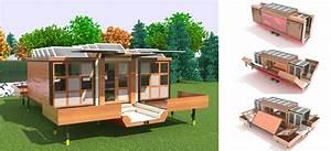 Maison Pop House : des maisons mobiles fabriqu es partir d objets de r cup ration actualit s seloger ~ Melissatoandfro.com Idées de Décoration