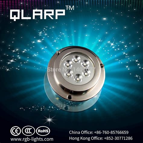 Surface Mount Underwater Boat Lights by Free Shipping High Quality 6x2w Led Surface Mount Marine