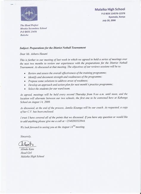 Draft Letter Template by Formal Letter Draft Letters Free Sle Letters