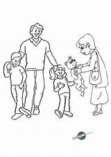 Coloring Pages Colouring Happy Drawing Nuclear Families Preschool Getdrawings Printable Getcolorings Fa Paintingvalley Popular sketch template