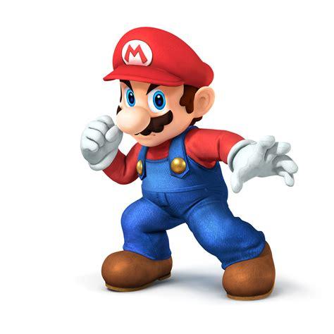 New Detailed Official Art For Super Smash Bros Mario