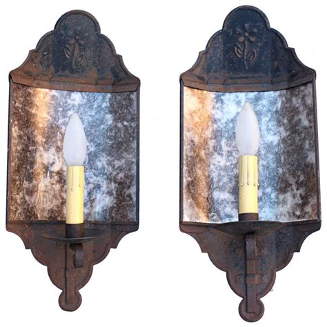 pair of 1930s monterey period sconces at 1stdibs