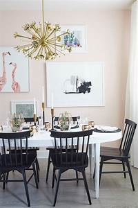 A, Pale, Pink, Dining, Room