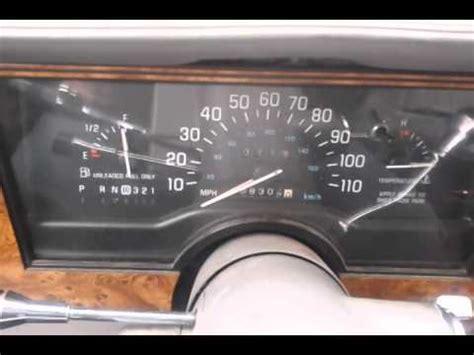 buick century speedometer issues youtube