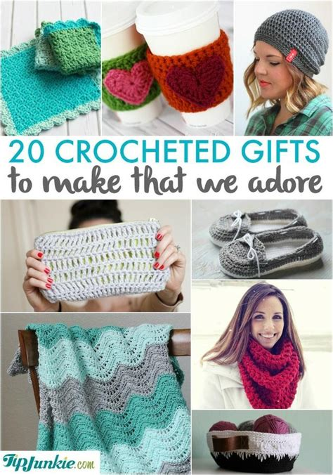 crocheted gifts     adore tip junkie