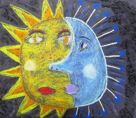 North Art Alert: Why the Sun and the Moon are in the Sky ...