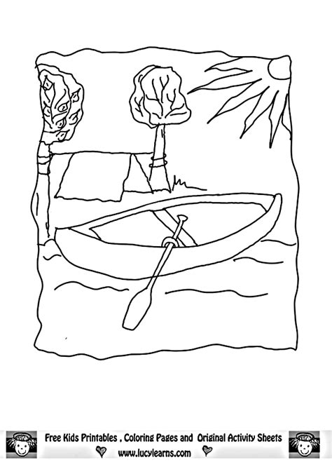 camping gear coloring pages   print