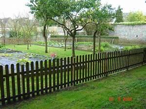 Cloturer Son Jardin Pas Cher : cloture bois pas cher ~ Melissatoandfro.com Idées de Décoration